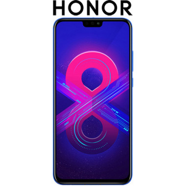 Смартфон Honor 8X 4/128GB Phantom Blue tehniss.ru в Екатеринбурге