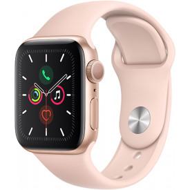Умные часы Apple Watch Series 5 GPS 40mm Gold Aluminum Case Pink Sport Band
