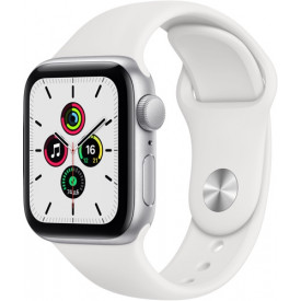 Смарт-часы Apple Watch SE GPS 40mm Silver Aluminum Case with Sport Band