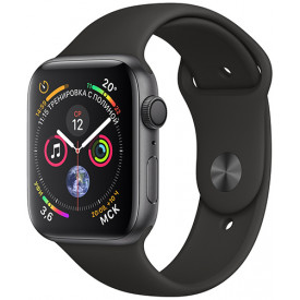 Смарт-часы Apple Watch Series 4 GPS 44mm Aluminum Case with Sport Band Space Gray