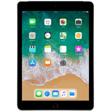 Планшет Apple iPad (2018) 128Gb Wi-Fi + Cellular Space Gray tehniss.ru в Екатеринбурге