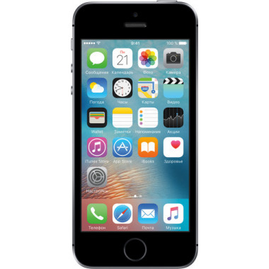 Смартфон Apple iPhone SE 128Gb Space Gray tehniss.ru в Екатеринбурге