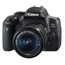 Фотоаппарат зеркальный Canon EOS 750D Kit 18-55