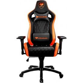 Геймерское кресло Cougar Armor S Black/Orange (3MGC2NXB.0001)