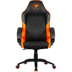 Геймерское кресло Cougar Fusion Black/Orange (3MFUSNXB.0001)