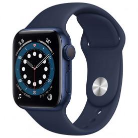 Умные часы Apple Watch Series 6 GPS 40мм Aluminum Case with Sport Band, синий/темный ультрамарин