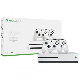 Игровая приставка Xbox One Microsoft S 1TB с двумя геймпадами