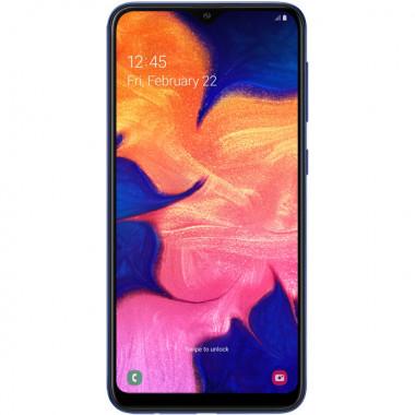 Смартфон Samsung Galaxy A10 Blue tehniss.ru в Екатеринбурге