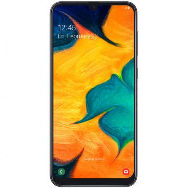 Смартфон Samsung Galaxy A30 64Gb Black tehniss.ru в Екатеринбурге