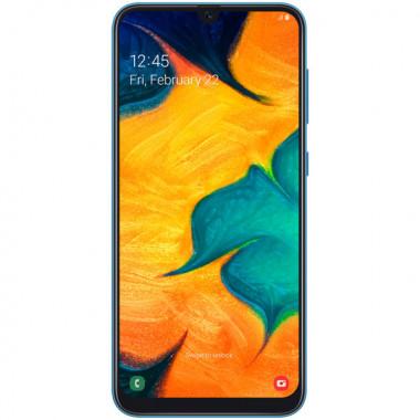 Смартфон Samsung Galaxy A30 32Gb Blue tehniss.ru в Екатеринбурге