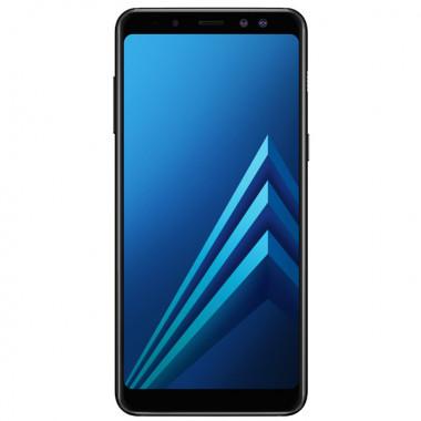 Смартфон Samsung Galaxy A8 (2018) 32GB Black tehniss.ru в Екатеринбурге
