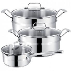 Набор посуды TEFAL E87 4S 574 Jamie Oliver