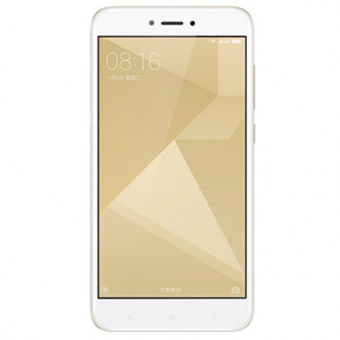 Смартфон Xiaomi Redmi 4X 16Gb Gold tehniss.ru в Екатеринбурге