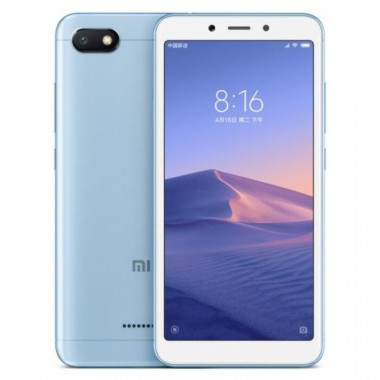 Смартфон Xiaomi Redmi 6A 2/16Gb Blue tehniss.ru в Екатеринбурге