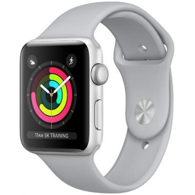 Смарт-часы Apple Watch Series 3 42mm Silver aluminium Fog Sport Band tehniss.ru в Екатеринбурге