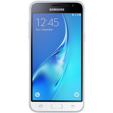 Смартфон Samsung SM-J320F/DS Galaxy J3 2016 White tehniss.ru в Екатеринбурге